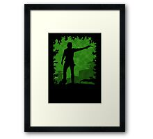 The Apocalypse - Rick Grimes Framed Print