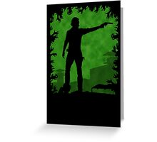 The Apocalypse - Rick Grimes Greeting Card