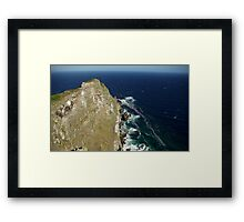Cape Point, Cape Town Framed Print