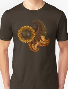 Fractals & Sunflower T-Shirt