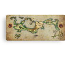 Arcaron old map Metal Print