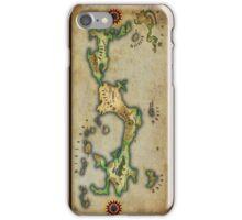 Arcaron old map iPhone Case/Skin