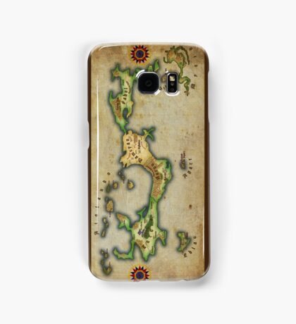Arcaron old map Samsung Galaxy Case/Skin