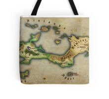 Arcaron old map Tote Bag