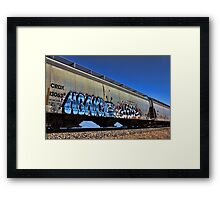 Watch Your Life Away Framed Print