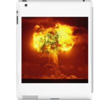 Nuke? Who Wins! iPad Case/Skin