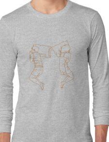 Sleeping position: Cliffhanger Long Sleeve T-Shirt
