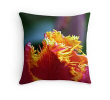 Skagit Valley Tulip Festival Throw Pillow