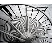 Snowy Stairway to Heaven Photographic Print
