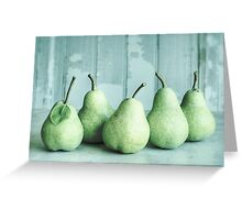 Just Pears Greeting Card