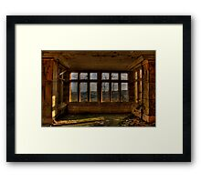 A Room With A View..... Framed Print