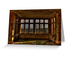 A Room With A View..... Greeting Card