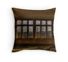 A Room With A View..... Throw Pillow