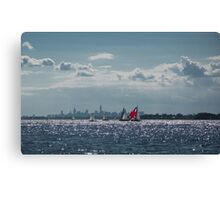 Summer Sailing Canvas Print