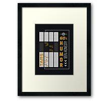 Tars ( Interstellar ) Framed Print