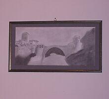 Stari Most ( Old bridge )  - mostar  by ddjikic