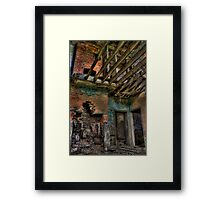 Upstairs, Downstairs Framed Print