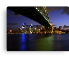 Under the Bridge... Canvas Print