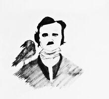 Edgar Allan Poe by ShellyKay