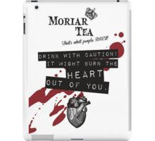 Moriar-Tea iPad Case/Skin