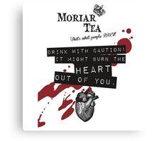 Moriar-Tea Canvas Print