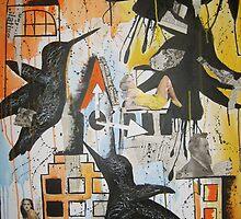 City birds by Hannah Clark