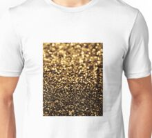 black gold Unisex T-Shirt