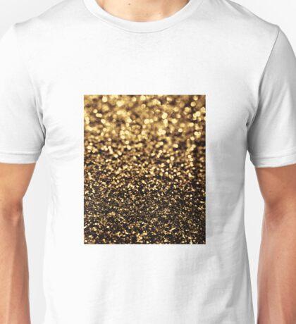 black gold Unisex T-Shirt