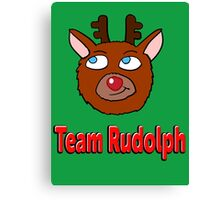 Team Rudolph  Canvas Print
