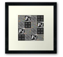 Four Grays Framed Print