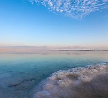 Israel, Dead Sea, salt crystalization by PhotoStock-Isra