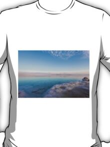 Israel, Dead Sea, salt crystalization T-Shirt