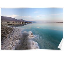 Israel, Dead Sea, salt crystalization Poster