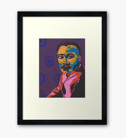 Martin Luther King Jr. Framed Print