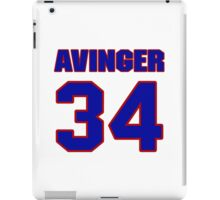 National football player Butch Avinger jersey 34 iPad Case/Skin