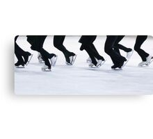 Synchro Skating Canvas Print