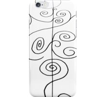 Faded Sketches iPhone Case/Skin