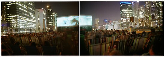 rooftop cinema by sasufi