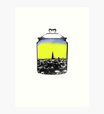 Jar city  Art Print