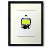Jar city  Framed Print