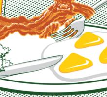 The Legend of Breakfast Sticker