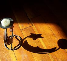 Moon Candle Holder Shadow by karen66