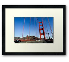 San Francisco Golden Gate Bridge  Framed Print