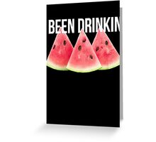 Watermelon Greeting Card