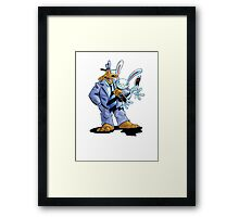 Sam & Max - Hug Art Framed Print