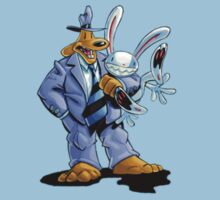 Sam & Max - Hug Art by The Flaming  Potato