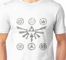 swirly zelda hyrule symbol Unisex T-Shirt