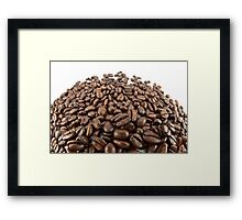 Coffee beans. Framed Print