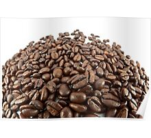 Coffee beans. Poster