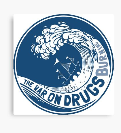 The War On Drugs Canvas Print